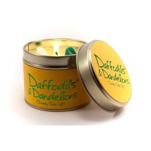 Lily Flame Candle in a Tin - Daffodil & Dandelion