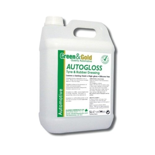 Clover Chemicals - Green and Gold  Autogloss Tyre and Rubber Dressing
