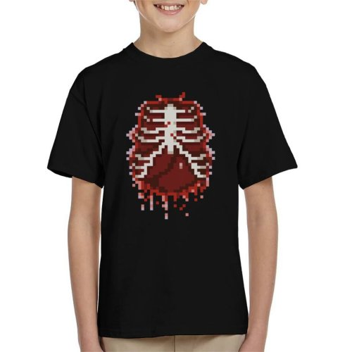 8 Bit Guts Kid's T-Shirt