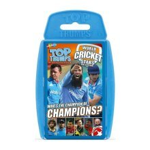 World Cricket Stars Top Trumps Card Game New Sealed