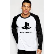 PlayStation w/ Japanese Logo Long Sleeve T-Shirt