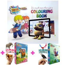 Magic Colouring Books Educational Toys For Girls Christmas Xmas Gifts Sets Kids