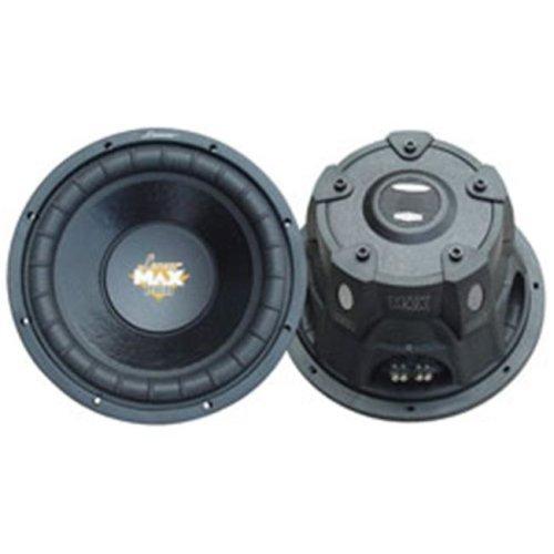 """Lanzar MAXP84 8"""" Subwoofer/Small Enclosure /4 Ohm /800 Watt/ Max Pro"""