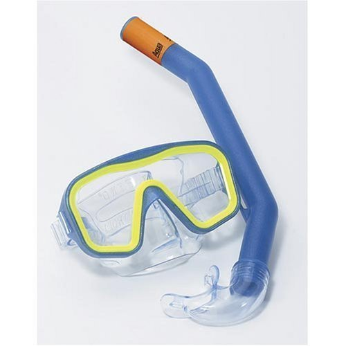 Aqua Leisure Low Volume Mask & Dry Top Snorkel