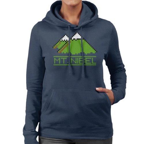 Pixel Mt Nibel Final Fantasy Women's Hooded Sweatshirt