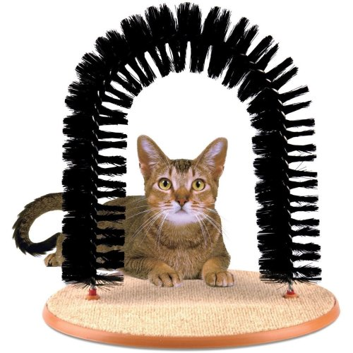 Cat Scratching Stand Pet Toys Kitty Scratch Tower Activity Scratcher