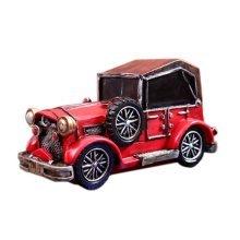 Creative Vintage Cartton Red Car Piggy Bank/Coins Tank