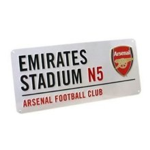 Arsenal Street Sign - Official Emirates Kids Free Pp New Bedroom Fc Metal -  arsenal street sign official emirates kids free pp new bedroom fc metal