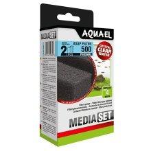 Aquael ASAP 500 Replacement Sponge with Phosmax x2