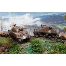 M4 A3 75 mm SHERMAN      - MILITARY VEHICLES 1:72 FAST ASSEMBLY - Italeri 7518