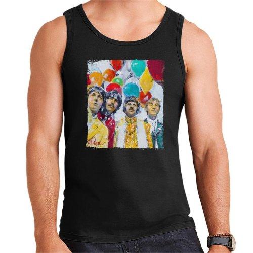 Sidney Maurer Original Portrait Of The Beatles Sgt Peppers 1967 Men's Vest