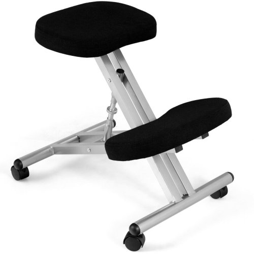 Adjustable Kneeling Stool Chair Ergonomic Orthopaedic Posture Seat