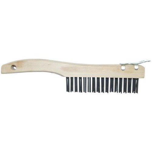 WBS416 9.5 x 1.06 in. Wood Wire Scratch Brush & Scraper