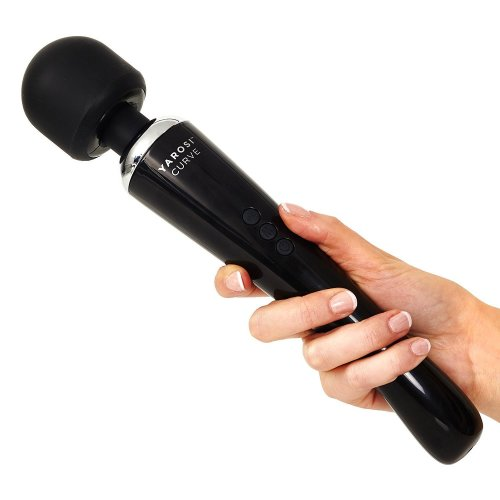 Alessandro Yarosi Cordless Curved Therapeutic Wand Massager   8 Powerful Speeds & 20 Pulsating Patterns   For Muscle Aches & Sports Recovery  ...
