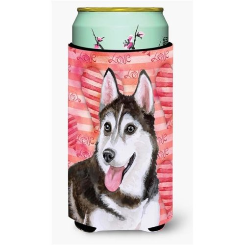 Carolines Treasures BB9799TBC Siberian Husky No. 2 Love Tall Boy Beverage Insulator Hugger