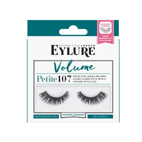 Eylure Volume Strip Lashes Number 107, Petite