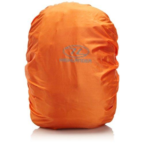 Highlander Lightweight Waterproof Rucksack Cover - Small - Hi Vis Orange