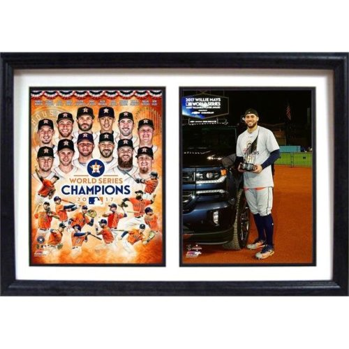 Encore Select 299-72 12 x 18 in. 2017 World Series Champions, Houston Astros - Double Frame