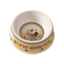 Bichon Frise Dog Bowl