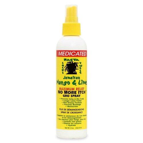 Jamaican Mango & Lime No More Itch Gro Spray Medicated 8oz