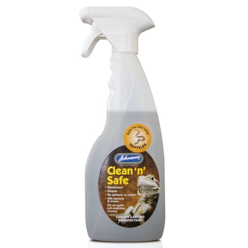 Jvp Reptile Clean 'n' Safe Disinfectant 500ml Trigger (Pack of 6)