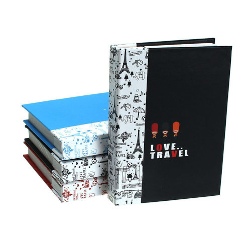 Random Creative Soldier Hardcover Combine Memopad Notepad Stationery Diary Notebook With Pen