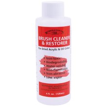 Winsor & Newton Brush Cleaner & Restorer-4oz