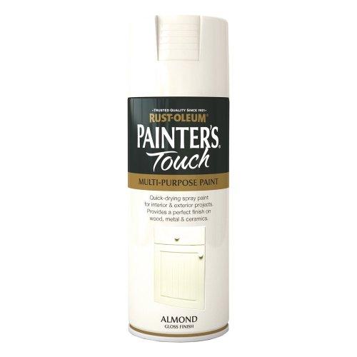 Rust-Oleum 400ml Painter's Touch Spray Paint - Almond Gloss