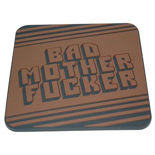 Pulp Fiction Bad Mo Fo Drinks Coaster Tarantino Movie Memorabilia