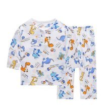 Little Boys Dinosaur Pajamas Cotton Kids Clothes Short Sets Children Sleepwear