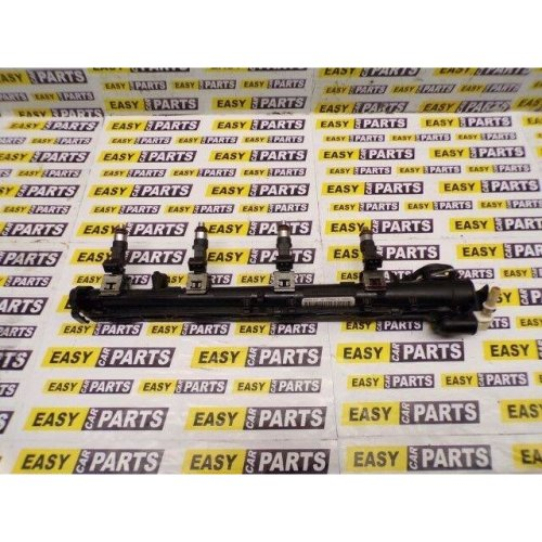 FORD FIESTA MK7 1.25 FUEL RAIL WITH INJECTORS 8A6G-9H487-AA