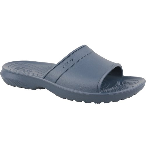 Crocs Classic Slide Kids 204981-410 Kids Navy Blue slides Size: 1 UK