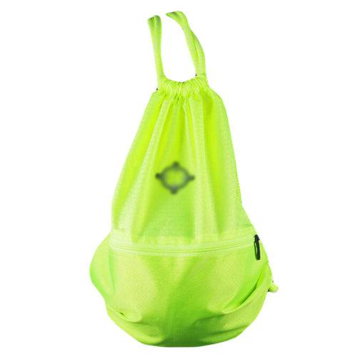 Basketball Soccer Volleyball Pocket Training Bag Outdoor Sport Organizer Backpack-Green
