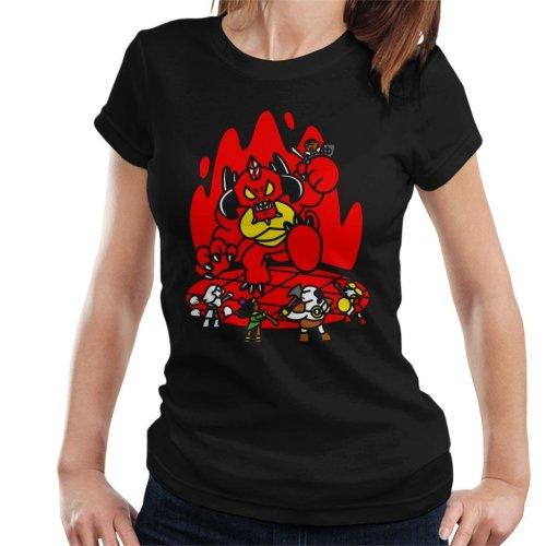 Chibis Battle Diablo Women's T-Shirt