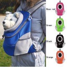 Pet Carrier Backpack Dog Front & Back Carrier
