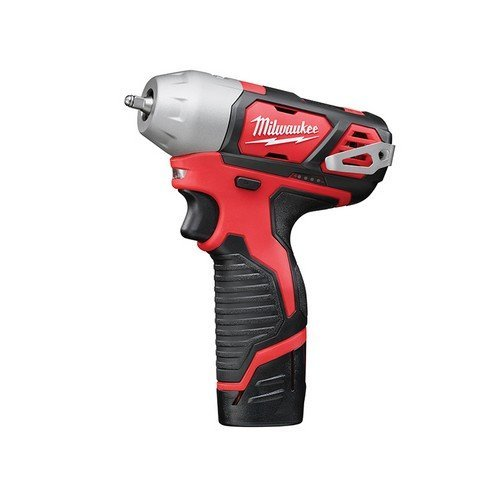 Milwaukee 4933443897 M12 BIW14-202C Sub Compact 1/4in Impact Wrench 12 Volt 2 x 2.0Ah Li-Ion