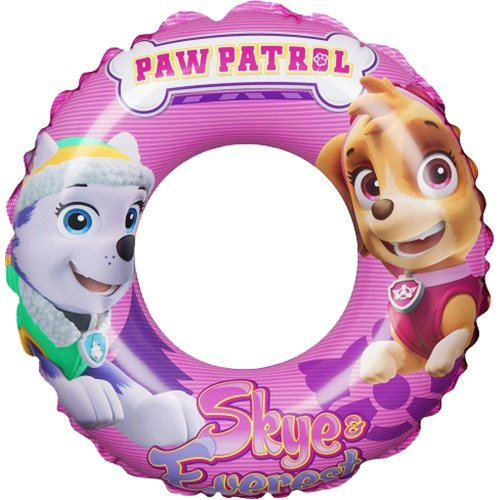 Girl's PAW Patrol Skye & Everest Inflatable Swimming Rubber Ring