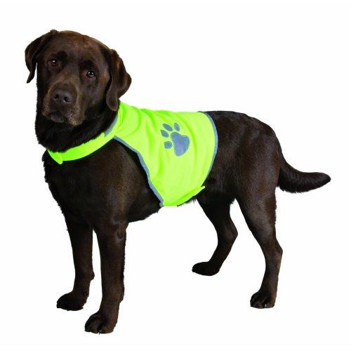 Safety Dog Vest, Reflective, Size: XL - E.g. Rottweiler, German Shepherd