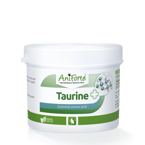 AniForte Taurine for Cats 100g: Amino Acid Pet Supplement to Help Muscle Tremors & Nerve Function