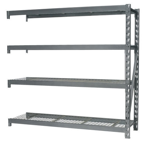 Sealey AP6572E Heavy-Duty Racking Extension Pack with 4 Mesh Shelves - 800kg Capacity Per Level