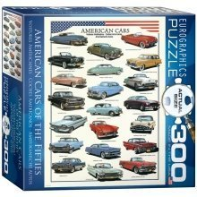 Eg83003870 - Eurographics Puzzle (xl) 300 Pc - Us Cars of the 50s (mo)