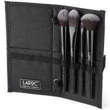 LaRoc Beginners Collection | 4pc Makeup Brush Set & Case