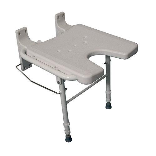 Wall Mounted Folding Shower Seat - Heavy Duty