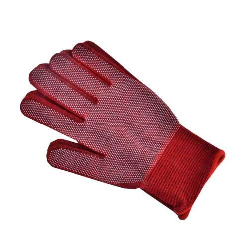 Breathable Skidproof Cotton Working Gloves Average Size Protective Gloves 2 Pair
