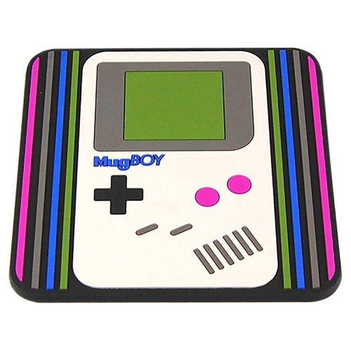 Gameboy Style Drinks PVC Nintendo Coaster Gamer Gift
