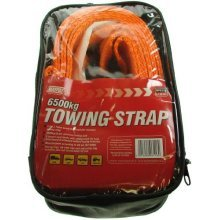Recovery Towing Strap - 6500kg 3.5m Dp - 35m Maypole Straps 6116 x Hooks -  recovery towing 35m 6500kg maypole straps 6116 x hooks