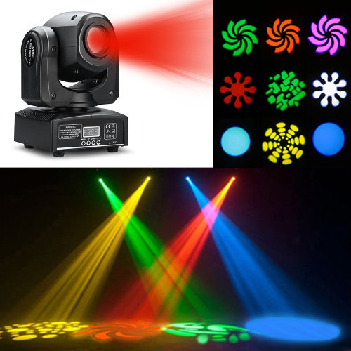 30W LED RGBW Moving Head Light DMX512 Stage Beam Light Effect Disco