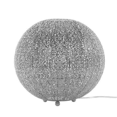 Round Table Lamp Silver FINKE