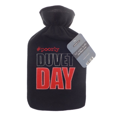 Country Club Fleece Everyday Hot Water Bottle, Duvet Day