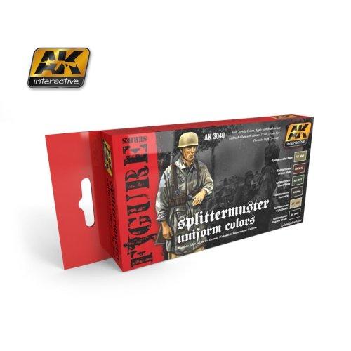 AK Interactive Acrylic Paint Set - Splittermuster Uniform Colours